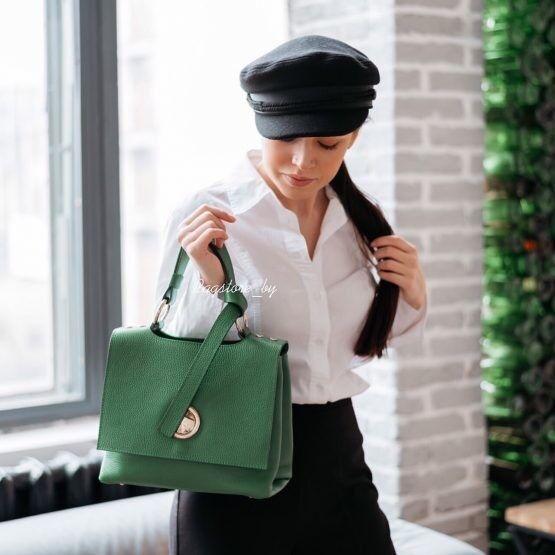 Магазин сумок Vezze Кожаная женская сумка C00471 - фото 2