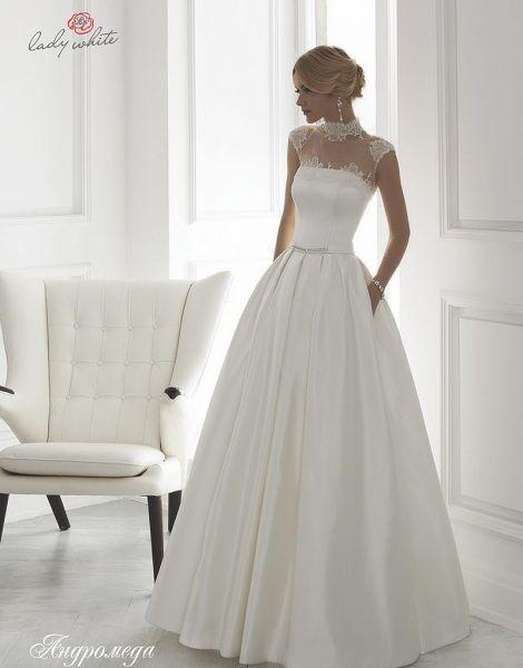 Свадебное платье напрокат Lady White Платье свадебное «Андромеда» - фото 1