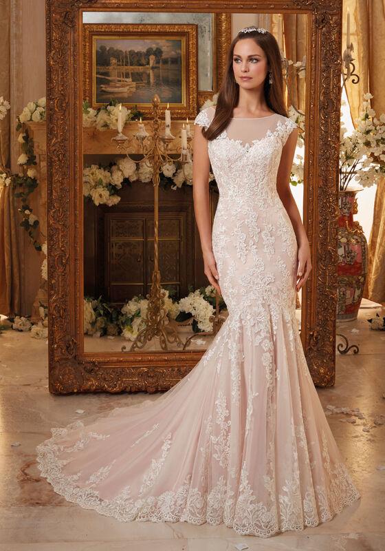 Свадебное платье напрокат Mori Lee Платье свадебное 5466 - фото 1