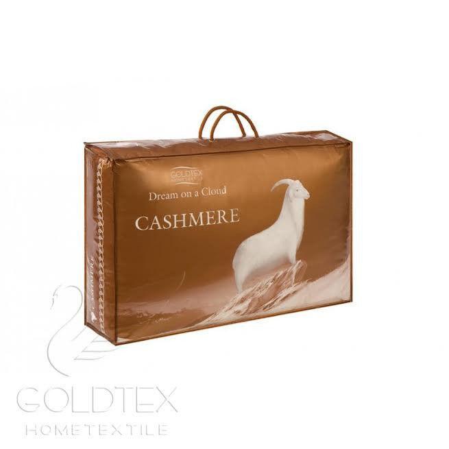 Подарок Голдтекс Элитное всесезонное кашемировое одеяло  220х240  1088 - фото 3