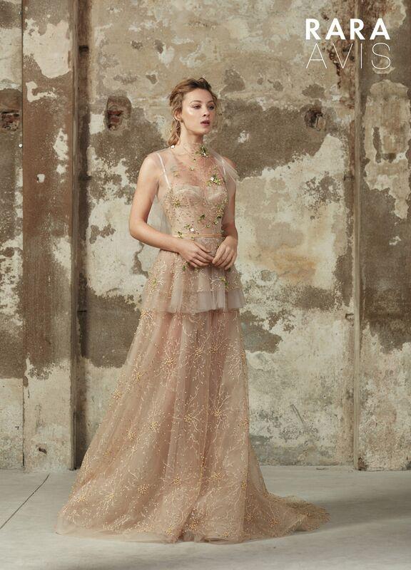 Свадебный салон Rara Avis Свадебное платье Floral Paradise  Los - фото 2