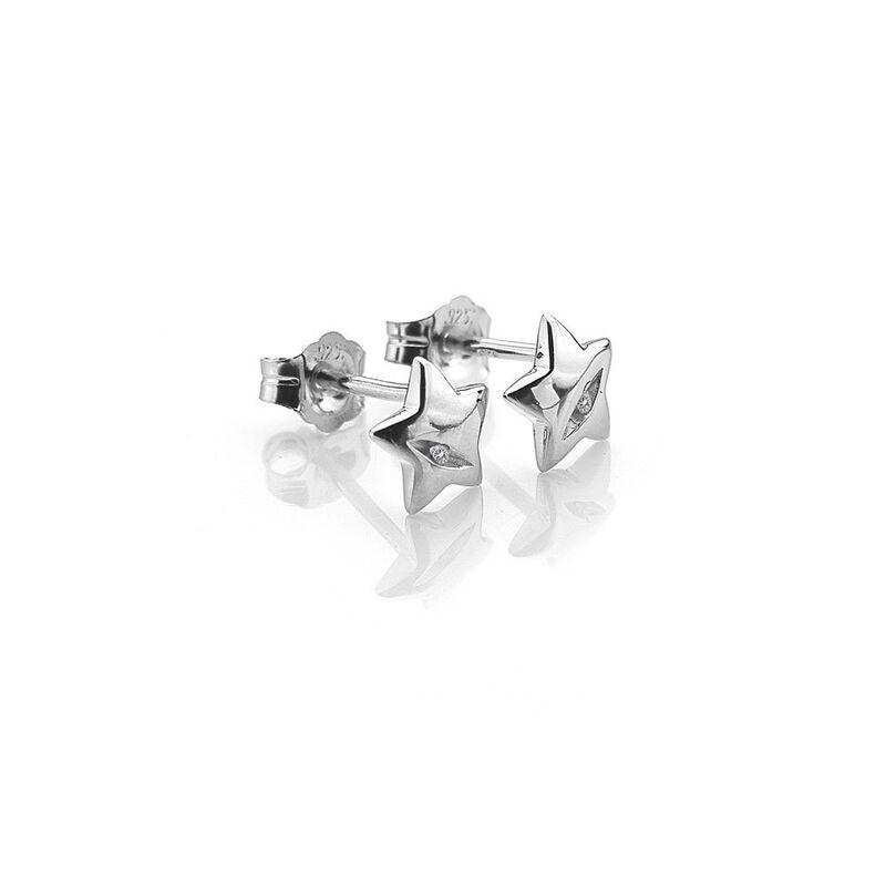 Ювелирный салон Hot Diamonds Серьги серебряные DE323 - фото 2