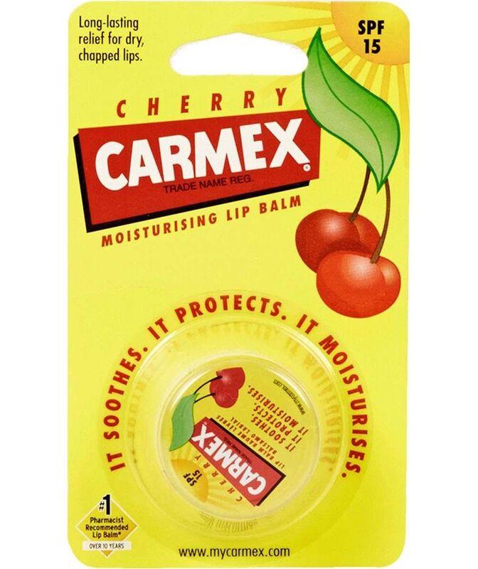 Декоративная косметика Carmex Бальзам для губ с ароматом вишни SPF15, стик в блистере - фото 1