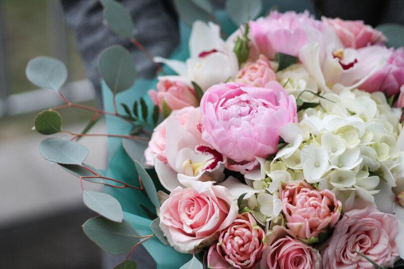 Магазин цветов Cvetok.by Букет «Розовая гавань» - фото 2