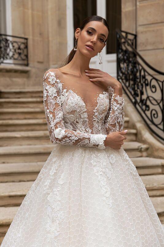 """Свадебное платье напрокат ALIZA свадебное платье """"Jullietty"""" - фото 3"""