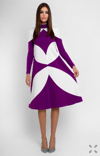 Платье женское Pintel™ Платье Lilac - фото 3