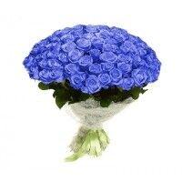 Магазин цветов Ветка сакуры Букет из роз № 14 (101 роза) - фото 1