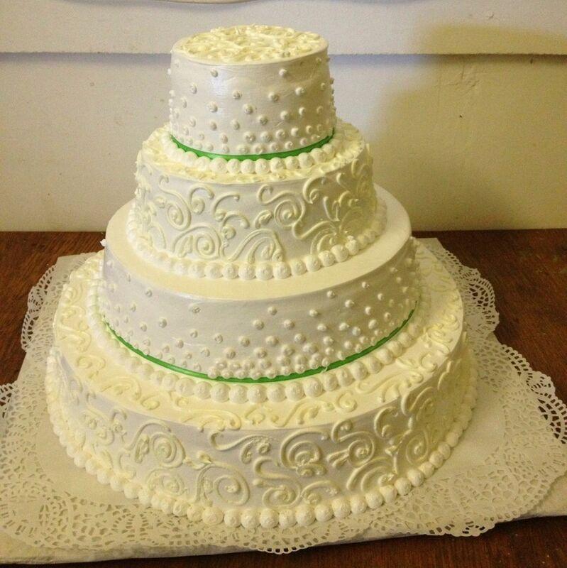 Торт МЕГАТОРТ Торт свадебный №7 - фото 1