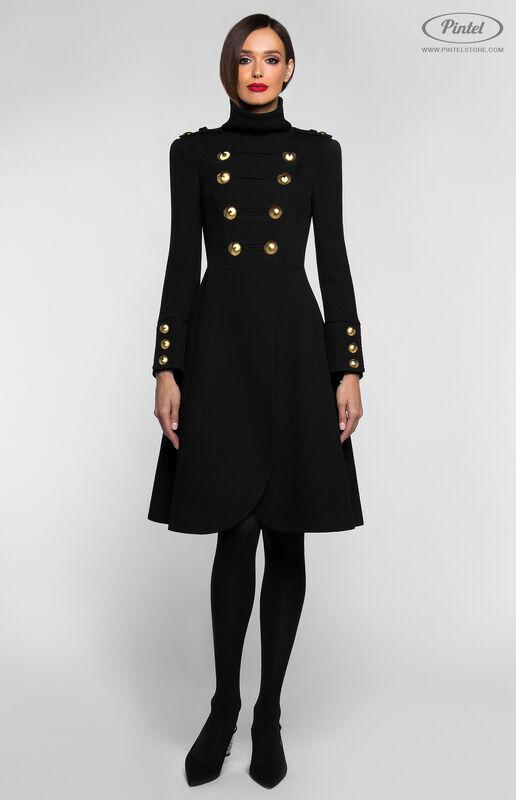 Верхняя одежда женская Pintel™ Двубортное приталенное пальто SHANICE - фото 1