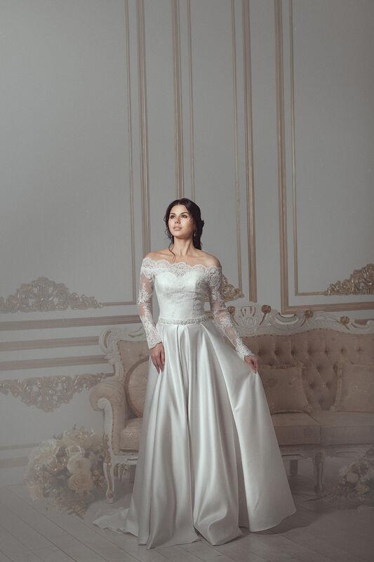 Свадебное платье напрокат Артемида Платье свадебное Donatella - фото 2