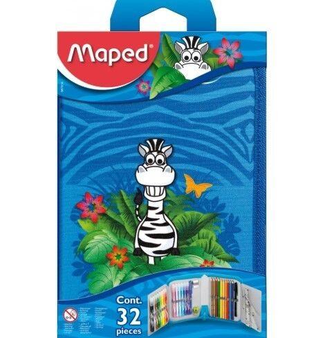 Товар для рукоделия Maped Пенал «Jungle» на 1 отделение - фото 1