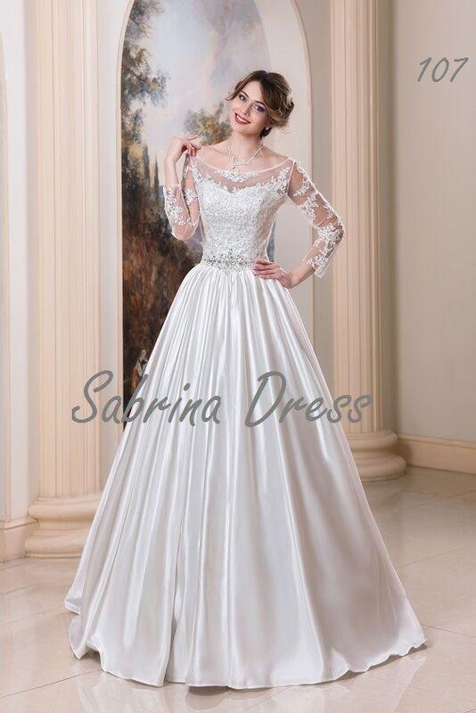 Свадебный салон Sabrina Dress Свадебное платье 107 - фото 1