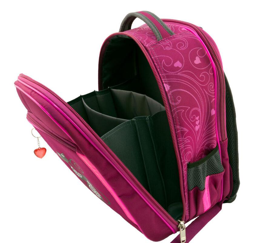 Магазин сумок Sandlex Рюкзак школьный «Котик» 429М - фото 4