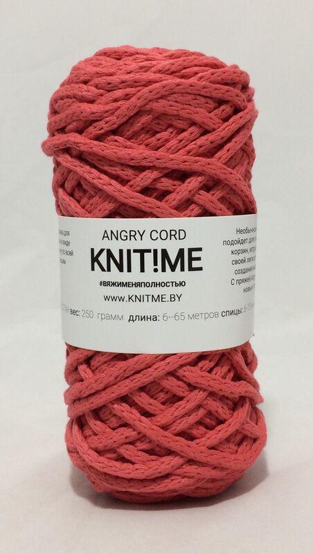 Товар для рукоделия Knit!Me Веревочная пряжа Angry Cord - Коралловый риф (AC15) - фото 1
