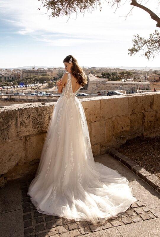 Свадебный салон Vanilla room Свадебное платье Бенита - фото 2