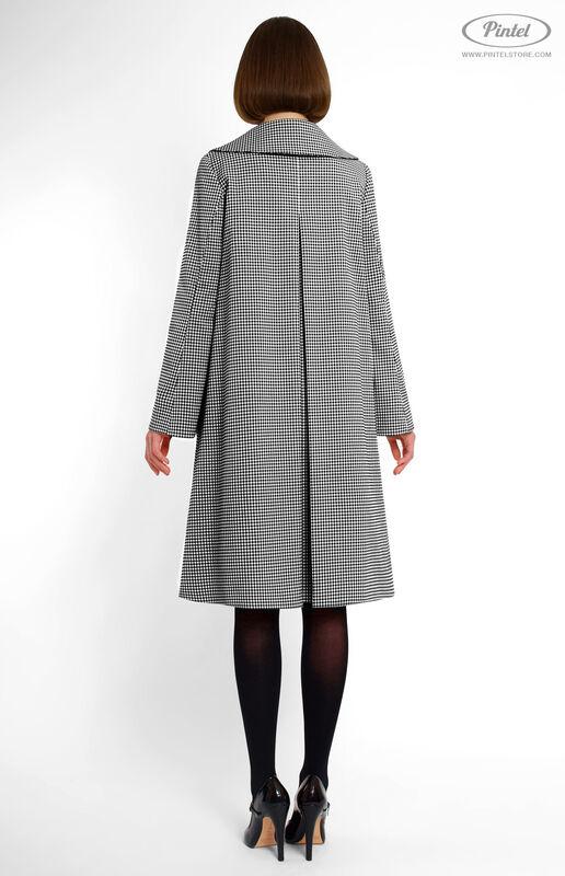 Верхняя одежда женская Pintel™ Однобортное пальто А-силуэта Jussiida - фото 2