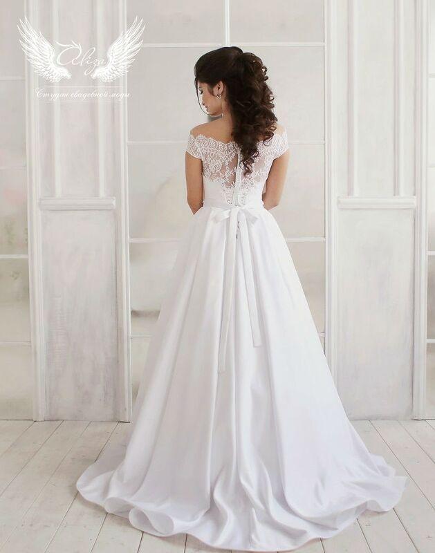 Свадебный салон ALIZA Платье свадебное «Alana» Ameli Benya - фото 2