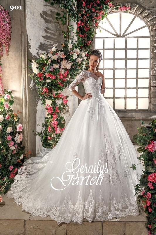 Свадебное платье напрокат Garteli Свадебное платье Gartely 901 - фото 1