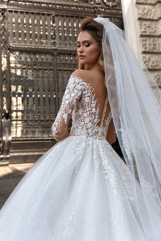 Свадебный салон Crystal Свадебное платье Amanda - фото 2