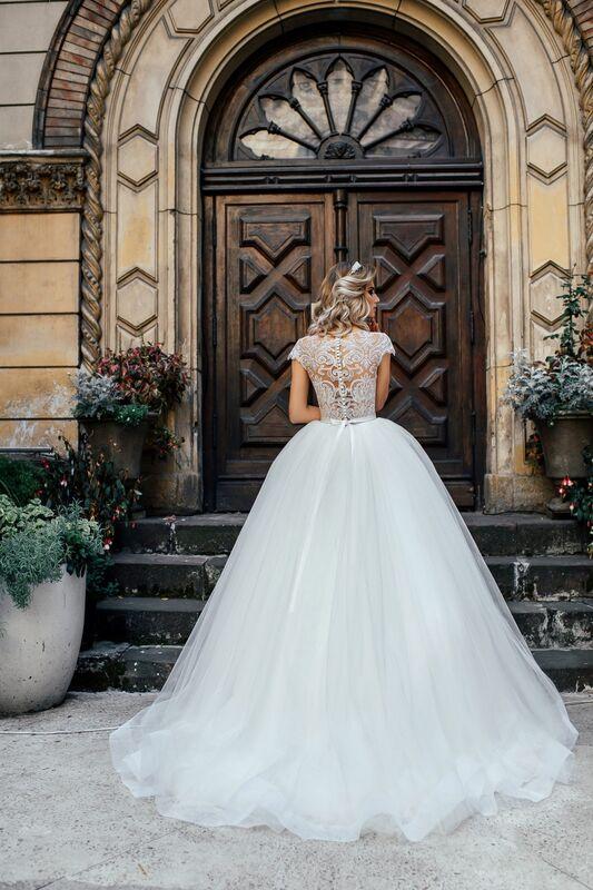 Свадебное платье напрокат Nicole Платье свадебное Odri - фото 2