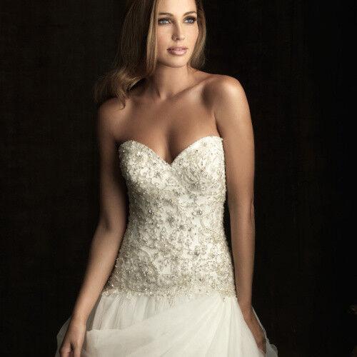 Свадебное платье напрокат Allure Bridals Платье свадебное 8901 - фото 5