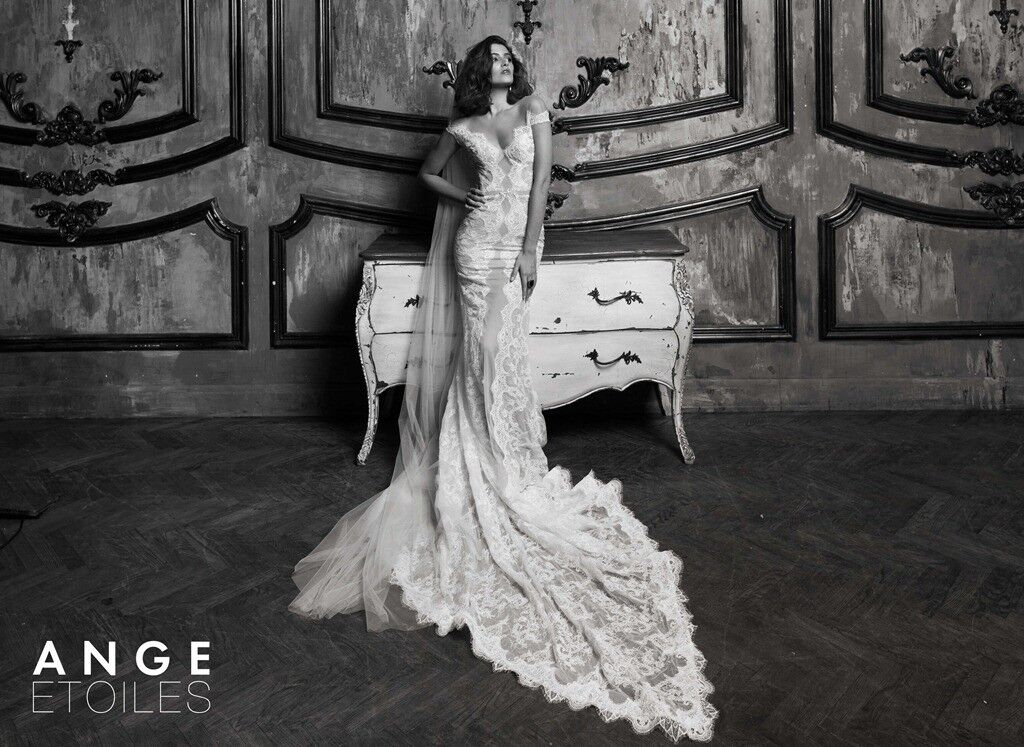 Свадебное платье напрокат Ange Etoiles Платье свадебное Charm 2017 Horinn - фото 1