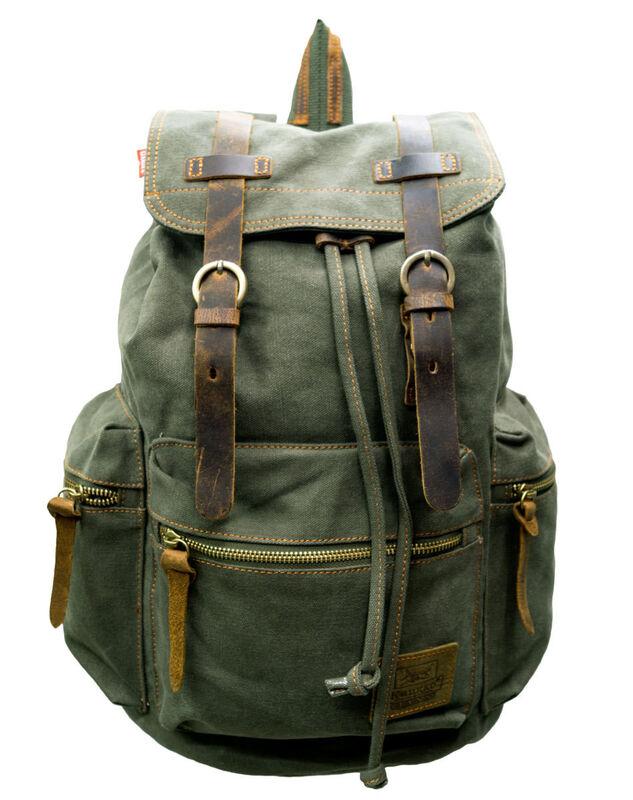 Магазин сумок Kaukko Рюкзак молодежный зеленый FP702 - фото 1