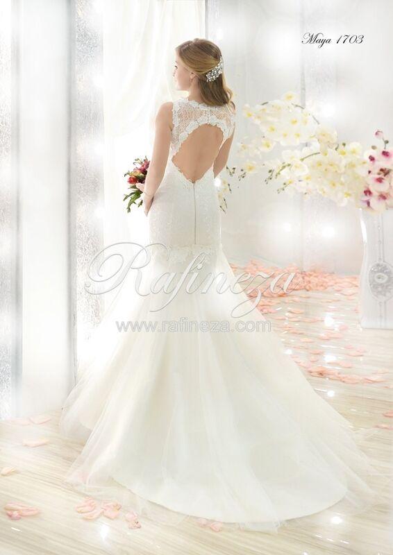 Свадебное платье напрокат Rafineza Свадебное платье Maya - фото 2