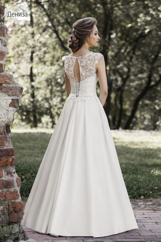Свадебное платье напрокат Vintage Платье свадебное «Дениза» - фото 2