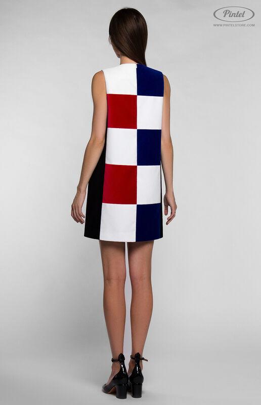 Платье женское Pintel™ Комбинированное мини-платье PATRÍCIA - фото 4