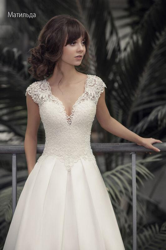 Свадебное платье напрокат Vintage Платье свадебное «Матильда» - фото 3