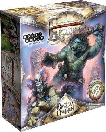 Магазин настольных игр Hobby World Настольная игра «Берсерк. Буря стихий: Вражда племен» - фото 1