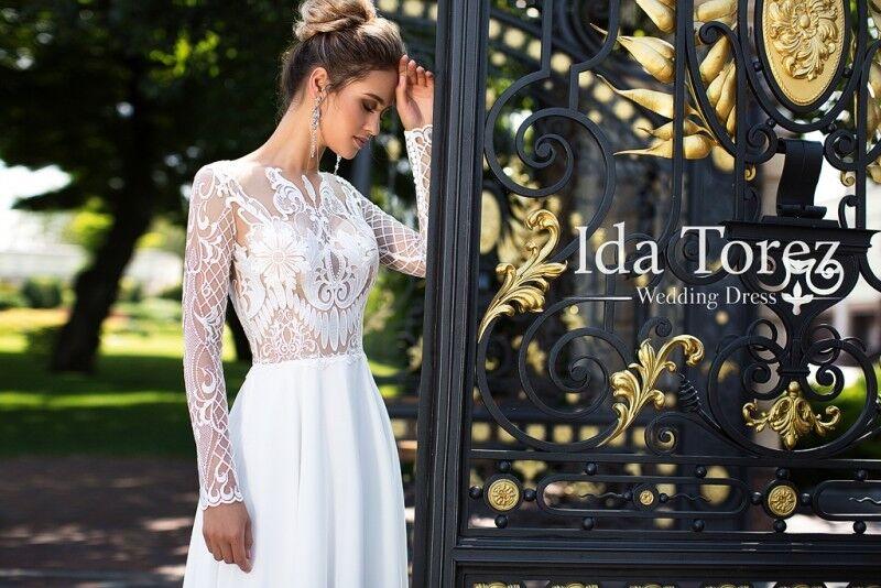 Свадебное платье напрокат Ida Torez Свадебное платье Candice - фото 3