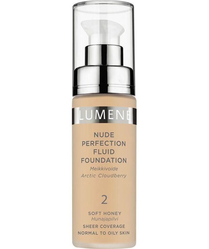 Декоративная косметика LUMENE Тональный флюид Nude Perfection Fluid Foundation, тон 2 - фото 1