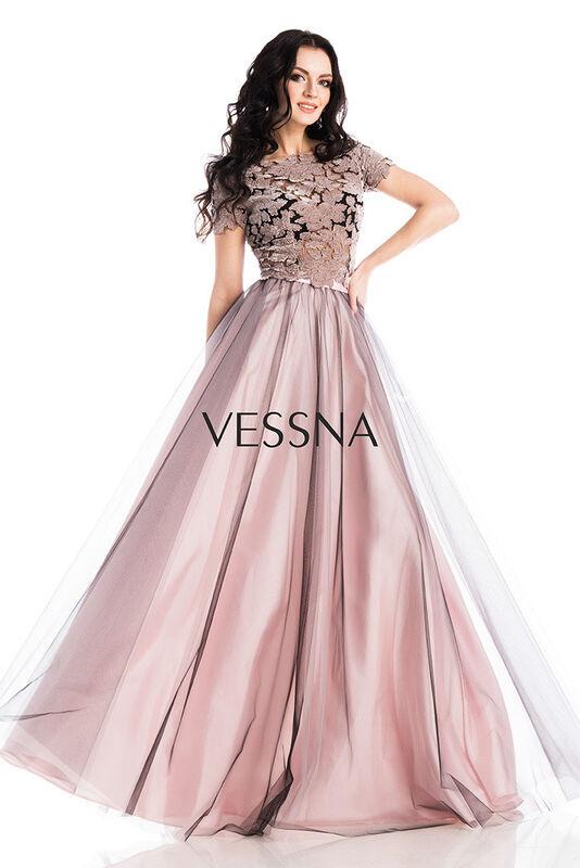 Вечернее платье Vessna Топ и Юбка длинная арт.1264 из коллекции VESSNA NEW - фото 1
