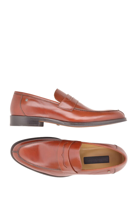 Обувь мужская HISTORIA Туфли лоферы коричнево-бордовые Sh.BrBo.73046 - фото 3