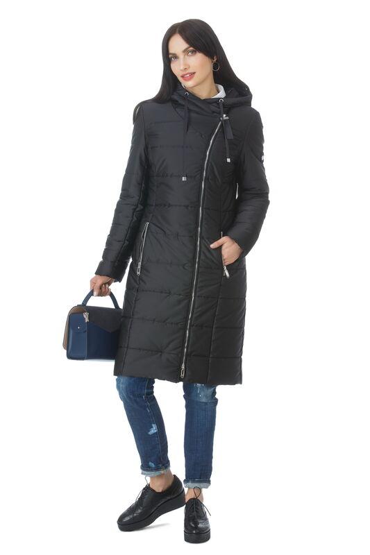 Верхняя одежда женская Elema Пальто женское плащевое утепленное Т-7330 - фото 1