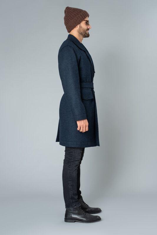 Верхняя одежда мужская Etelier Пальто мужское утепленное 6М-9524-1 - фото 4