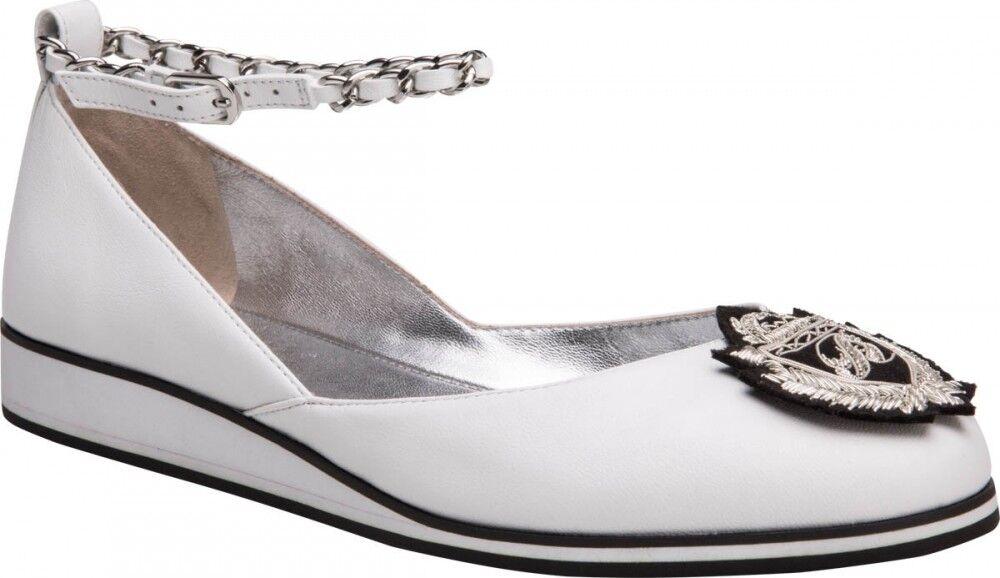 Обувь женская Alla Pugachova Туфли женские 1821-01 white - фото 1