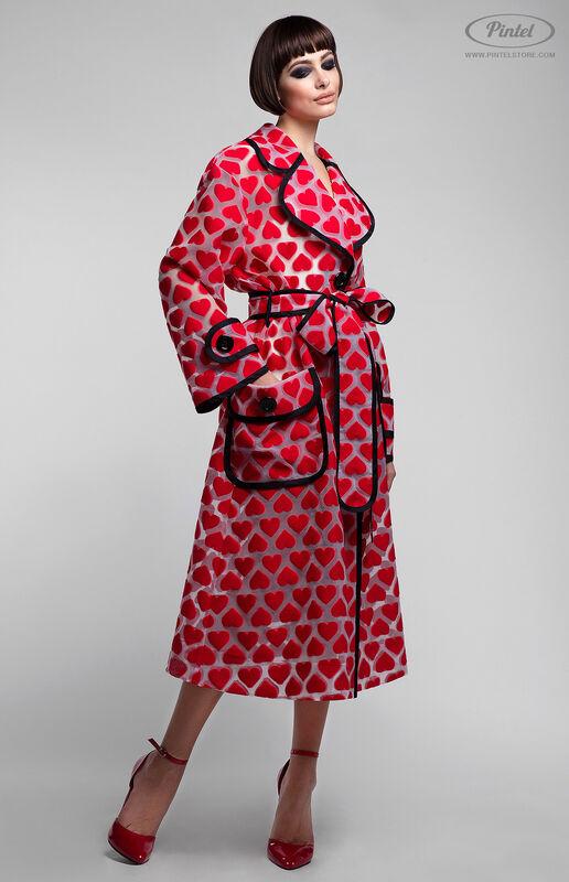 Верхняя одежда женская Pintel™ Плащ из органзы свободного силуэта Ranisha - фото 3