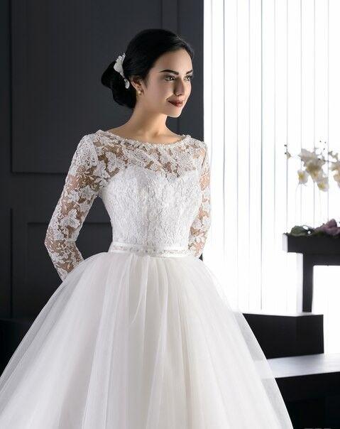 Свадебное платье напрокат ALIZA Платье свадебное «Rose» Diva Vivien - фото 2