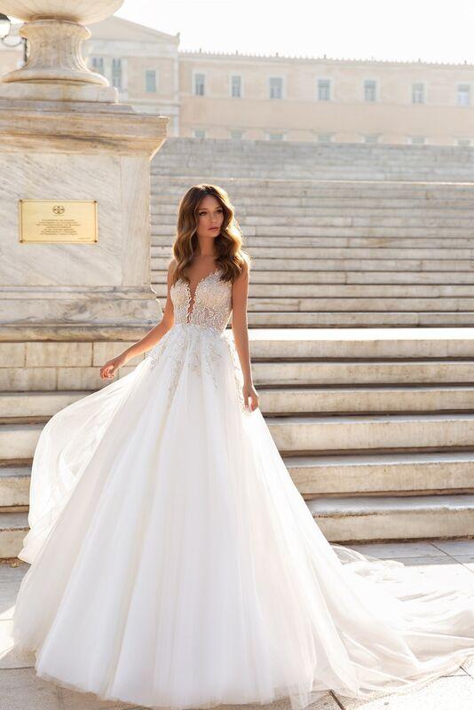 """Свадебный салон ALIZA свадебное платье """"Esmeraldynye"""" - фото 1"""