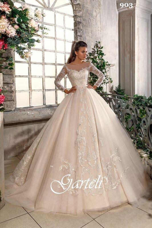 Свадебный салон Garteli Свадебное платье 903 (коллекция 2019) - фото 1