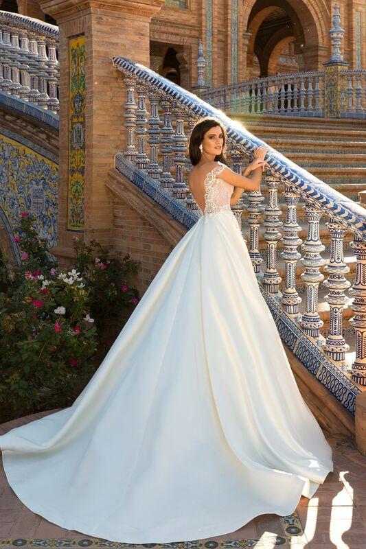 Свадебный салон Crystal Платье свадебное Isabel - фото 3