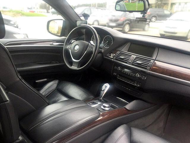 Прокат авто BMW X6 черный 3.5 л - фото 5