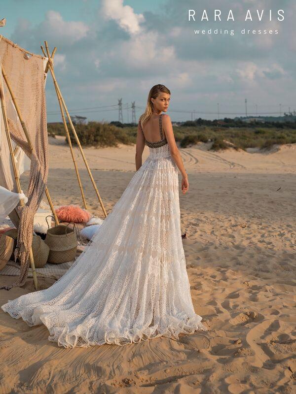 Свадебное платье напрокат Rara Avis Свадебное платье Wild Soul Mina - фото 3