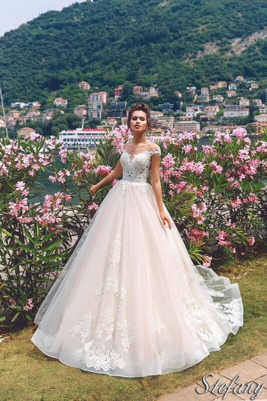 Свадебный салон Bonjour Galerie Свадебное платье Stefany из коллекции Royal Luxury - фото 1