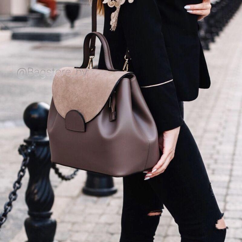 Магазин сумок Vezze Кожаная женская сумка C00387 - фото 1
