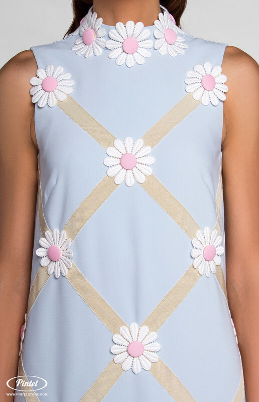 Платье женское Pintel™ Миди-платье свободного силуэта GLORISEL - фото 4