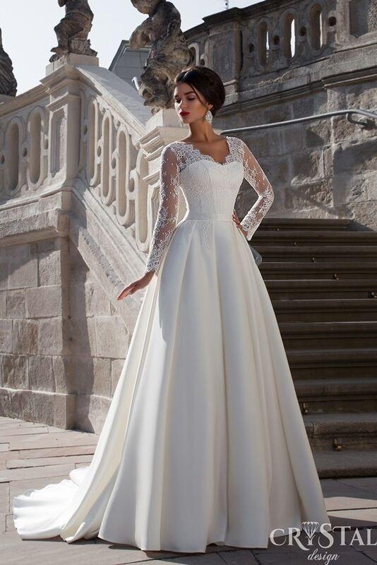 Свадебное платье напрокат Crystal Свадебное платье Sicilia - фото 1